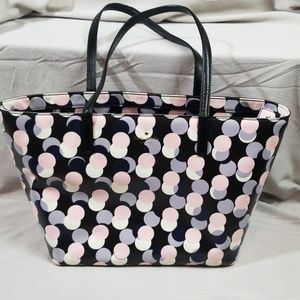 Kate Spade Polka Dot Tote Handbag